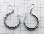 Серьги серебро 800 проба. 3,32 грамм, фото №4