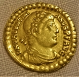 Солід, Римська імперія, імператор Валентиніан I. 364-375 рр. н.е., фото №2