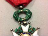 Крест Кавалера Ордена Почетного Легиона. Республиканский тип., фото №6