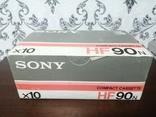Упаковка аудиокассет Sony HF90n 2, фото №8