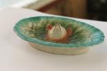 Старинная тарелка, пепельница Лис, фото №5