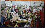 Картина  Козаки  96х58. Копия., фото №4