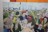 Картина  Козаки  96х58. Копия., фото №5