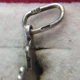 Крестик серебро 916 проба СССР., фото №6