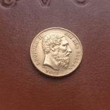 Бельгія20франків франков 1878, фото №2