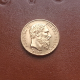 Бельгія20франків франков 1878, фото №3