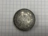 Hong Kong 1/2 dollar 1868 half dollar Qeen Victoria, фото №2