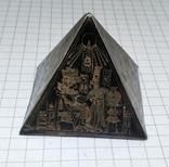 Пирамида Статуэтка латунь. Фараон, Египет., фото №3