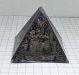 Пирамида Статуэтка латунь. Фараон, Египет., фото №5