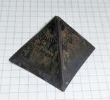 Пирамида Статуэтка латунь. Фараон, Египет., фото №6
