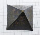 Пирамида Статуэтка латунь. Фараон, Египет., фото №10