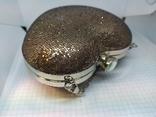Новая сумочка-клатч в форме сердца. Длинная и короткая ручки., фото №4