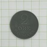 Дания 2 оре 1957 год, фото №2