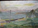 """Море"" б.акв. 20х28 см. Юрий Шуревич., фото №4"