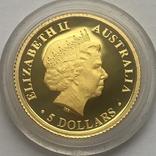 5 долларов 2009 года. Коричневая змея. Австралия., фото №3