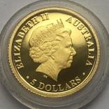 5 долларов 2009 года. Бролга. Австралия., фото №3