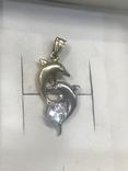Кулон дельфины, фото №4