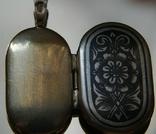 """Винтажный Медальон """"северная чернь""""Ссср, фото №7"""