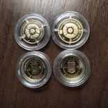 2 гривны Золото.4 шт., фото №3