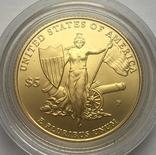 5 долларов 2011 года. США. Медаль за отвагу., фото №2