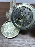 Карманные часы Молния Волки, фото №7