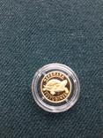 Монета 2гр. Черепаха золото, фото №11