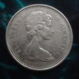 25  центов 1968 Канада   серебро    (6.2.4), фото №4