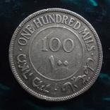100 милс 1927 Палестинская Британия   серебро    (6.3.1), фото №2