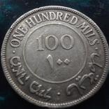 100 милс 1927 Палестинская Британия   серебро    (6.3.1), фото №3