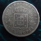1  рупия 1882 Португальская Индия, фото №4