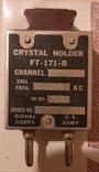 Кварцевый кристаллический держатель США Crystal Holder FT-171-B, фото №2