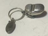 Кулон сапог з емалю срібний 800п, фото №8