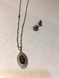 Кулон і сережки, фото №5