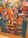 Картина из дома художника - черновцы 1996, фото №12