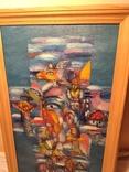 Картина из дома художника - черновцы 1996, фото №13