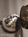 Часы карманные старые Esta на ходу, фото №6