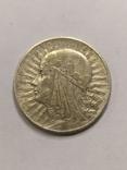 Польша 5 злотых 1933 год серебро, фото №2