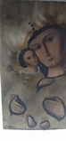 Икона Божией матери с младенцем, фото №3