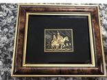 Картина Toledo Испания Дон Кихот 24к и 18к, фото №2