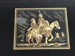 Картина Toledo Испания Дон Кихот 24к и 18к, фото №3