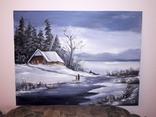 Зимовий пейзаж, фото №2