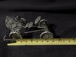 Автомобиль из серебра  925 ZOCCHI 35,5 гр., фото №8