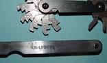 Щуп 0,05-1,0/кронциркуль/резьбомер метрический, фото №4