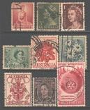 Брит. Австралия, старые марки, гаш., фото №2
