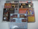 8 дисков на на 7 игр Sony PlayStanion + коробка для приставки, фото №3