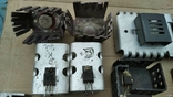 Радиаторы с радиодеталями - 1.2 кг., фото №3