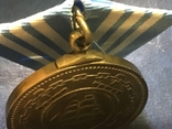 Медаль Нахимова. С номером. Копия, фото №5