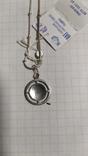 Серебренная цепочка с кулоном., фото №9