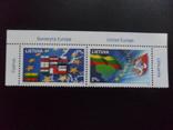 Литва. 2004 г. Европа. сцепка  MNH, фото №2