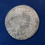 Орт 1621 г. Сигизмунд. Штемпельный блеск., фото №3